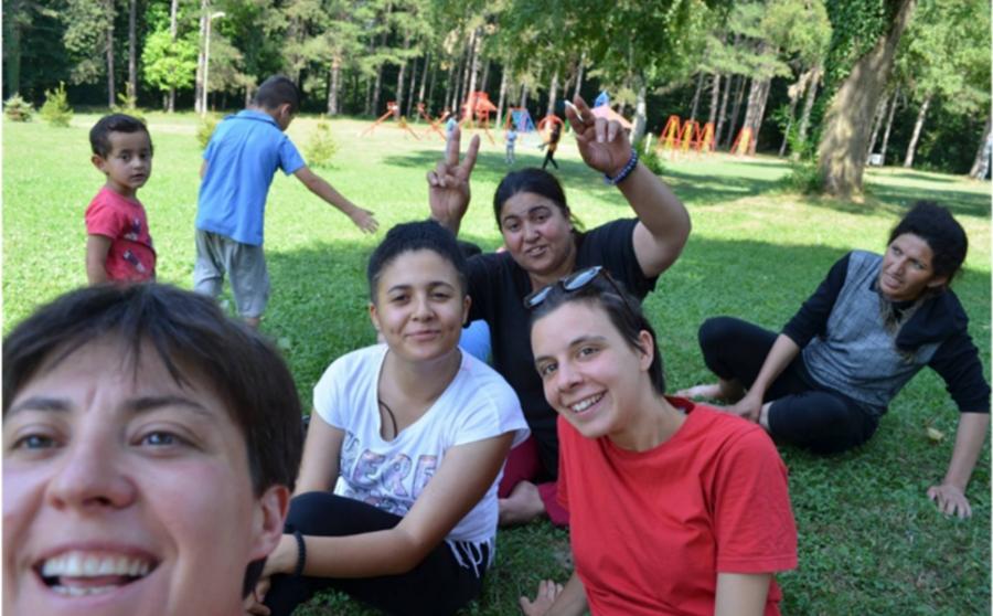Interventi psico-sociali nei campi profughi in Serbia