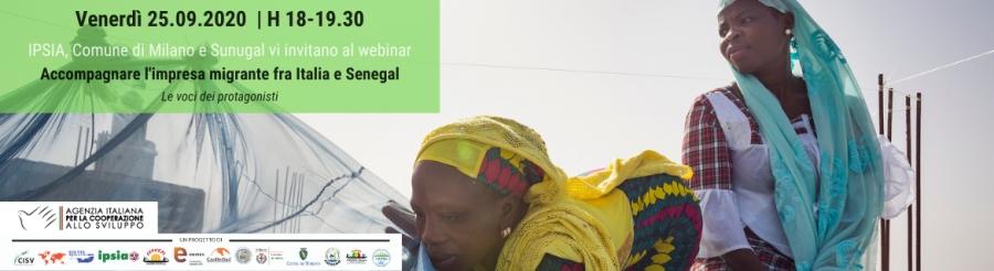 Accompagnare l'impresa migrante tra Italia e Senegal
