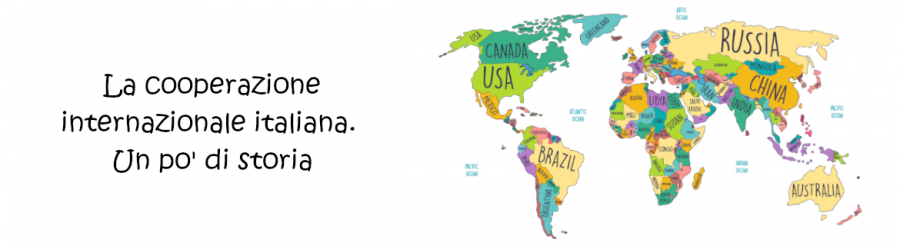 La cooperazione internazionale italiana